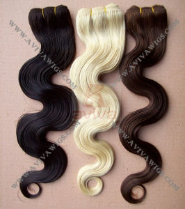 Human Hair Extension (Body Wave) pictures & photos