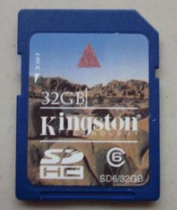 32GB SD Card, Memory Card pictures & photos