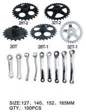 Bike Chainwheel & Cranks