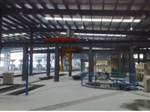 Aerated Autoclaved Concrete Block Machine Line (AAC) (300000 cubic)