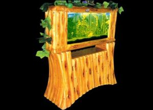 Acrylic Aquarium, Log Screen Aquariums, Screen Fish Tank (1530*1530*400mm)