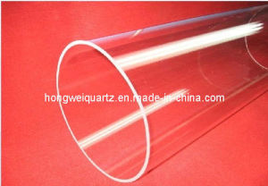 Super Big Od Clear Fused Quartz Tube