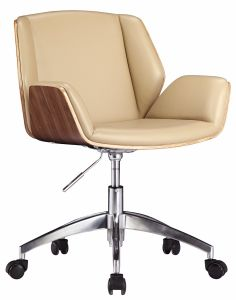 Swivel Upholstery Office Meeting Lounge Chair with Bended Board pictures & photos