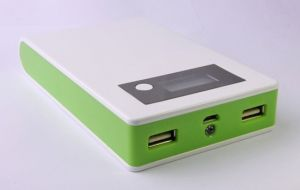 Portable Wireless 12000 mAh with LED Light Power Bank Smartphone Mobile Charger