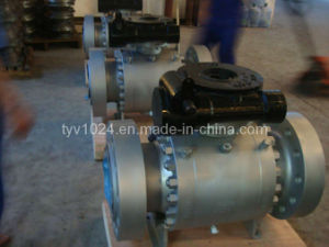 Forged Trunnion Mounted Ball Valve Q347n