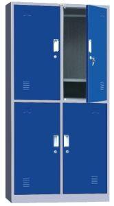 4 Door Metal Locker / Steel Cabinet (JH09-071)