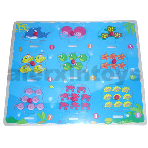 Wooden Puzzle Numbers with Sea Animals (80898) pictures & photos