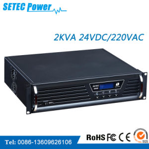 2kVA 24VDC/220VAC High Frequency off Grid Inverter (SET24/220-2KLC) pictures & photos