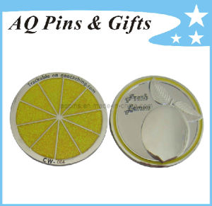 3D Geo Coin with Laser Engraving, Customized Challenge Coin pictures & photos
