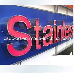 LED Stainless Steel Return Channel Letter Sign