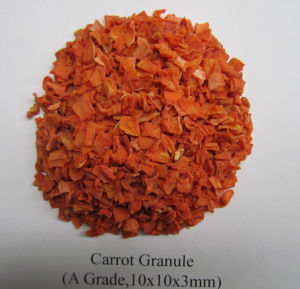 Grade a 10X10X3mm Dehydrated Carrot Granule pictures & photos