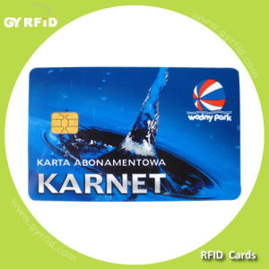 ISO RFID Contact Memory Card pictures & photos