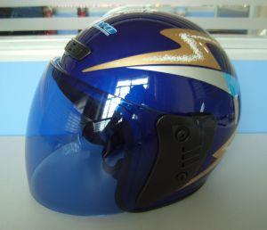 Half Face Motorcycle Helmet (HF-B1)