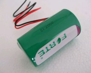3.6V Lithium Battery Er34615m 14.5ah with Connectors and Pins Used in AMR Meters pictures & photos