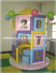 Children′s Indoor Playground Equipment-Turning Octagonal Pavilion (JW-1102)