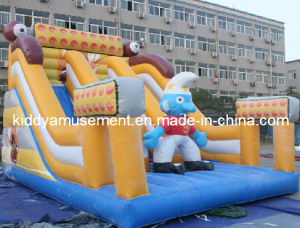 2017 Newest Inflatables Bouncy Slides Toys for Amusement Park