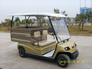 48V/3.7kw, CE, ISO 2 Seaters Electric Delivery Vehicle pictures & photos