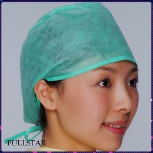 Surgical Cap with Easy Tie pictures & photos