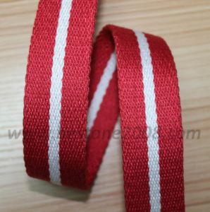 High Quality Spun Polyester Webbing for Garment #1312-38 pictures & photos