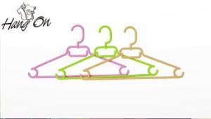 Plastic Shirt Coat Hanger (new material)
