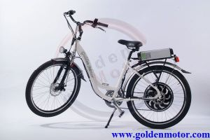 26′′ White Colour 36V 750W Hub Motor Bicycle (LEB-400) pictures & photos
