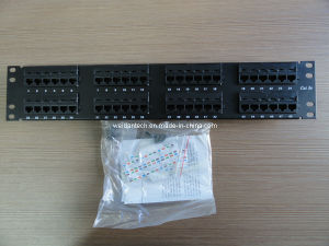 "19"" 2u 48ports Cat5e CAT6 UTP Systimax Patch Panel pictures & photos"