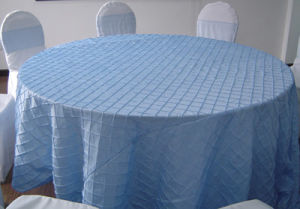 Pintuck Tablecloth Table Cover
