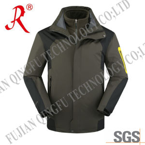 2015 Best Quality Outdoor Winter Jacket for Men (QF-684)
