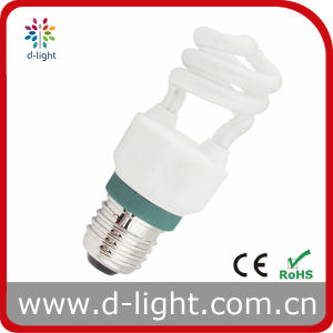 Half Spiral Energy Saving Bulb (7W, T2) pictures & photos