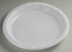 Easylife P102625 10′′ (26cm) Round Plate PS White pictures & photos