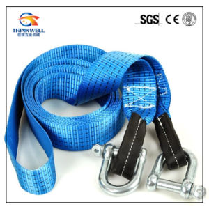 Heavy Duty Tow Strap Safety Strap with Shackle pictures & photos