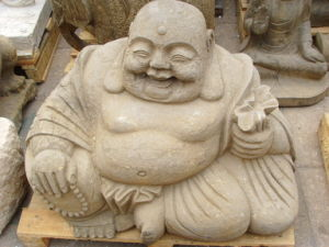 Happy Buddha, Antique Stone Carving Buddha (21419) pictures & photos