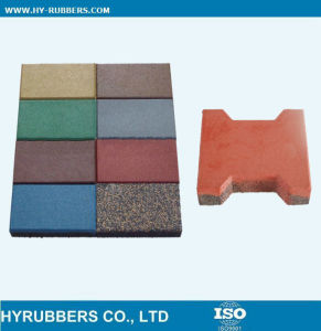 Factory Price Rubber Dog Bone Tile pictures & photos