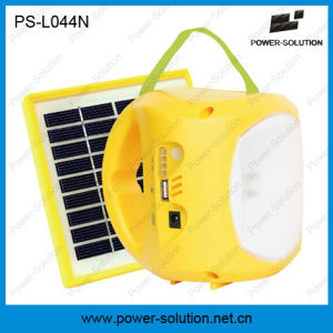 Portable Lithium Battery Mini Solar Camping Lamp with Phone Charging pictures & photos