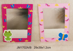 En71 ASTM Wooden Decorative Mirror for Kids pictures & photos