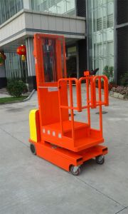 4m Aerial Electric Order Picker (with CE) pictures & photos