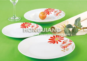 Porcelain Plate (HJ1003) pictures & photos