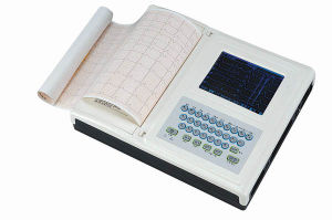 Medical Portable Digital Electrocardiograph ECG-120 pictures & photos