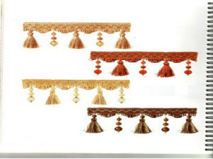 Beaded Tassel Fringe (GM-B-350)