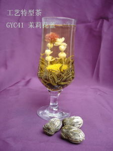Jasmine Basket (Artistic Tea/Blooming Tea/Artificial Tea) (GYC041)