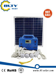Portable 30W Solar Lighting System pictures & photos