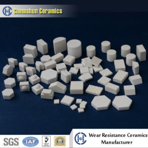 92%&95% Alumina Ceramic Block for Wear Protection pictures & photos