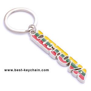 Custom Metal Lietuva Souvenir Poland Letter Shape Key Holder (BK11658) pictures & photos