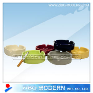 Porcelain Square Ashtray in Solid Colors pictures & photos