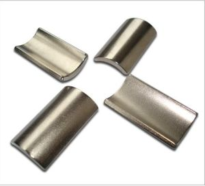 Strong Permanent Neodymium Arc Magnet
