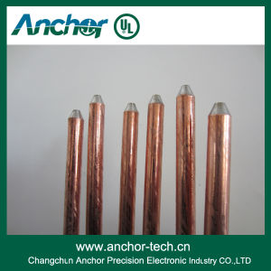 UL Listed Copper Clad Earth Rod, Ground Rod for Lightning Protection Earthing pictures & photos