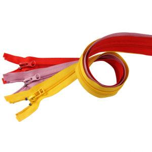 Colorful Top Stopper Jacket Nylon Zipper