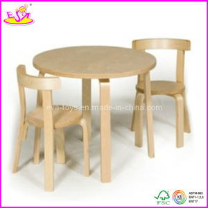 High quality Children round table and chair (W08G071) pictures & photos