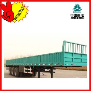 Tri-Axles Trailer in China/Cnhtc Transport Truck Trailer