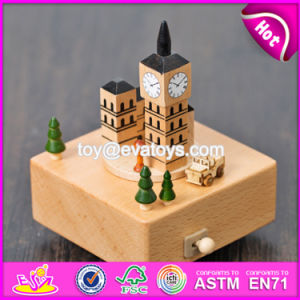 High Quality Children Toys Beech Wood DIY Music Box W07b041 pictures & photos